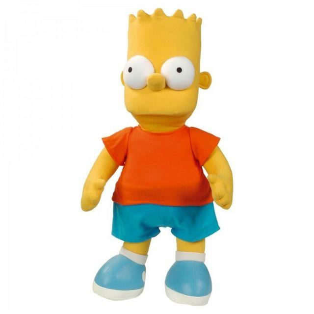 Marque Generique - Peluche Bart Simpson 38 cm les Simpsons
