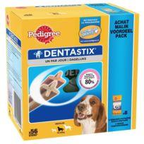 Pedigree - Friandises Dentastix pour Chien de Moyenne Taille - x56