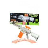 Betoys - Pistolet mitrailleur electrique 20 Fléchettes