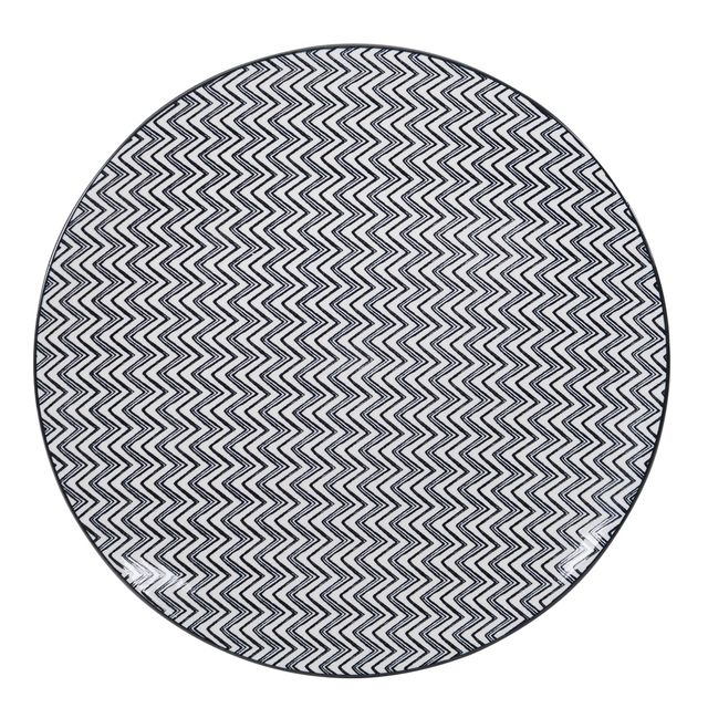 TABLE PASSION ASSIETTE PLATE 27CM KURO PORCELAINE