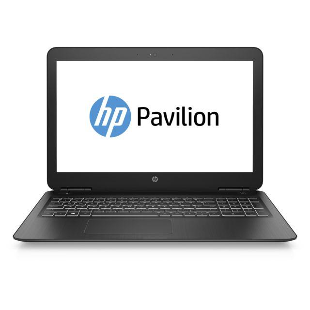 achat hp pavilion notebook 15 bc312nf noir ordinateur portable 15 6. Black Bedroom Furniture Sets. Home Design Ideas