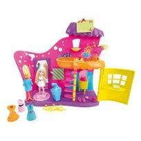 Polly Pocket - X1284 - Poupée Et Mini-poupée - Salon De Beauté Multicolore