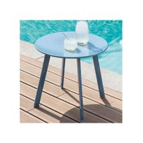 HESPERIDE - Table d'appoint Saona bleu orage Hespéride