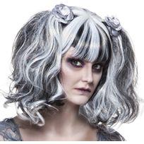 Boland - Perruque Fantôme avec Roses - Halloween