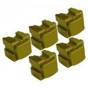 Marque Generique Fg Encre Encre Solide Jaune Compatible pour Xerox Phaser 8200 5 Sticks