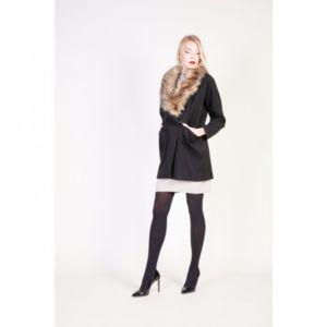 Manteau femme noir taille 46