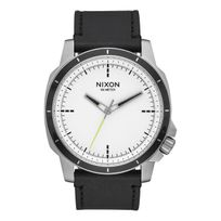 Nixon - Ranger 45 Ops Leather White / Black