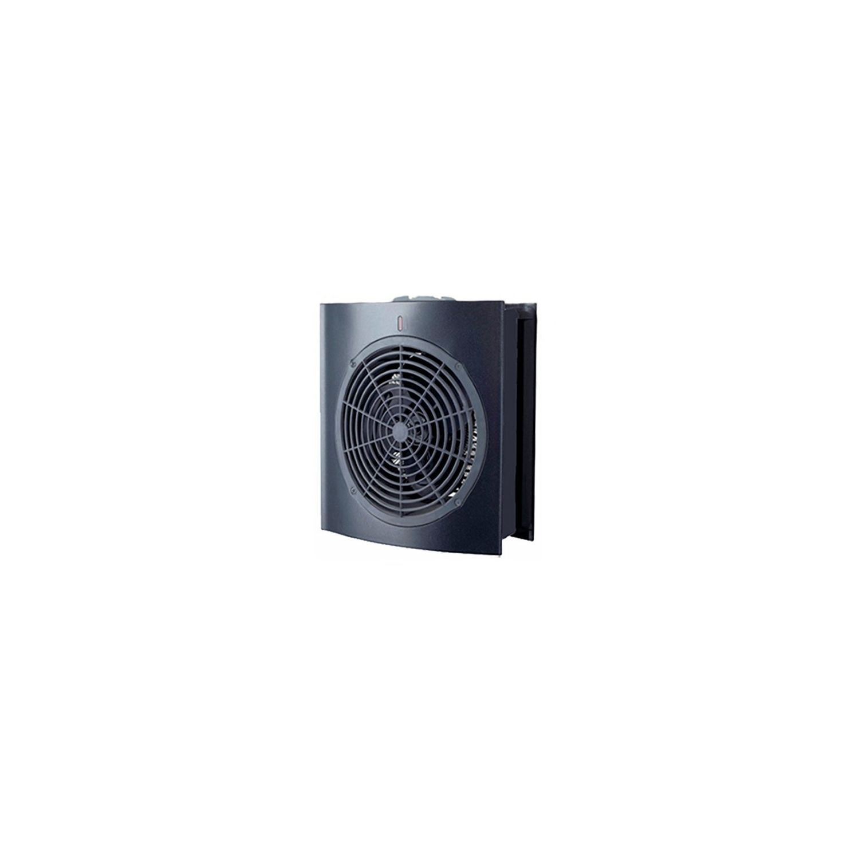 supra soufflant salle de bain 10002000w noir juno - Radiateur Soufflant Salle De Bain Supra