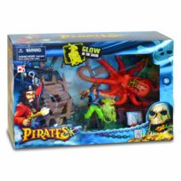 Chap Mei - Figurine pirate avec accessoires : Pieuvre