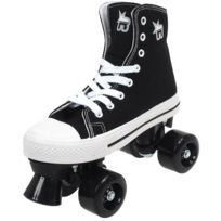 Rookie - Rollers canvas high black Noir 12443