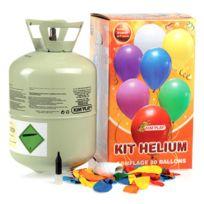 Kim Play - Bonbonne d'hélium 30 Ballons