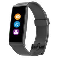 MYKRONOZ - Bracelet connecté fitness- Cardiofréquencemètre / Podomètre - Notification Appel / SMS / Email - IP67 - Autonomie 5 jours - Compatible IOS / Android