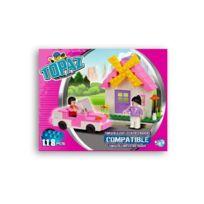 Topaz - Jeu De Construction Maison + Voiture 118 Pièces
