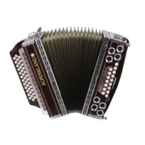 "Alpenklang - Pro Harmonica ""Deluxe"" 4 Rangées, 3 Roseaux"