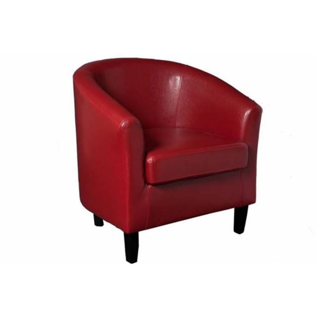 Inside 75 Cabriolet design cosy New York rouge