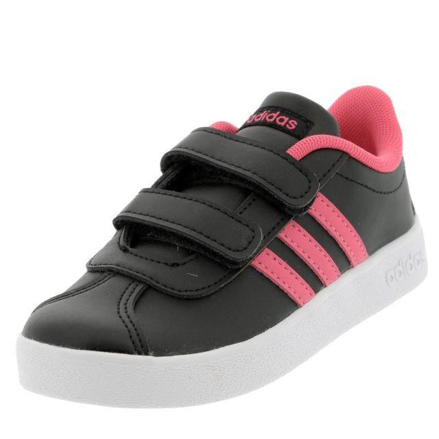 the best attitude 2df3e 3c4ff Adidas Neo - Chaussures scratch Adidas neo Vl court 2.0 cmf Noir 47258