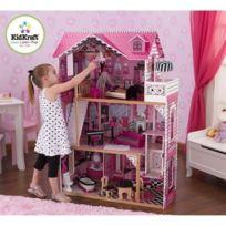 Kidkraft - Maison de Poupées en Bois Amélia + 14 pieces