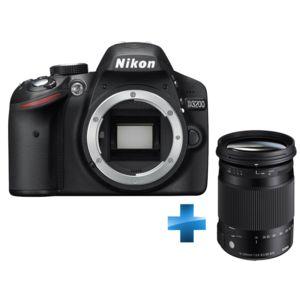 Nikon pack d3200 sigma 18 300mm pas cher achat vente - Appareil photo nikon d3200 pas cher ...