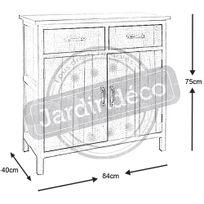 commode 40 cm profondeur achat commode 40 cm profondeur pas cher rue du commerce. Black Bedroom Furniture Sets. Home Design Ideas