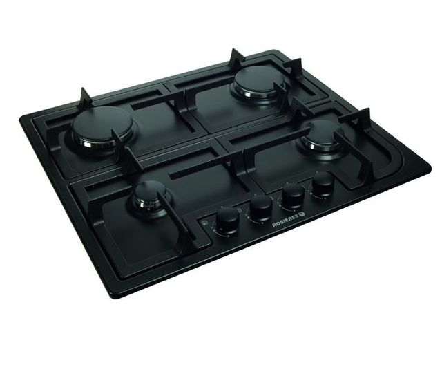rosieres table cuisson gaz rtg64fbpn achat plaque de cuisson gaz. Black Bedroom Furniture Sets. Home Design Ideas