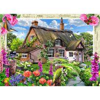 Master Pieces - Puzzle 1000 pièces : Cottage fleuri