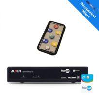 Alden - Récepteur Tv satellite Hd + Carte Fransat Pc6 + Télécommande Tactile