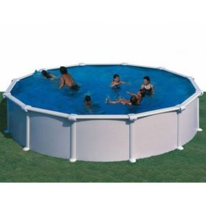 gre pools kit piscine hors sol acier ronde atlantis pas cher achat vente piscines acier et. Black Bedroom Furniture Sets. Home Design Ideas