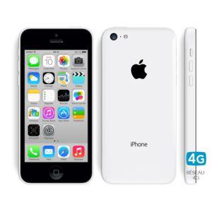 apple iphone 5c 32 go blanc pas cher achat vente. Black Bedroom Furniture Sets. Home Design Ideas