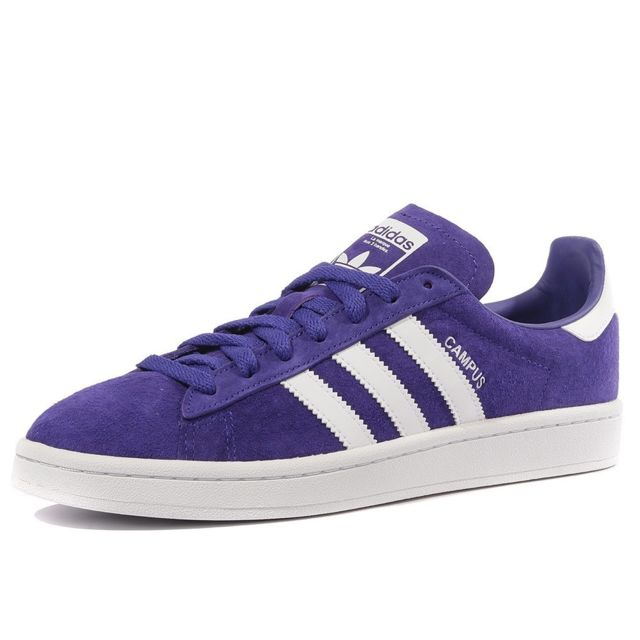 brand new 91b2a b9d53 Adidas - Campus Homme Chaussures Violet Adidas Multicouleur 41 1 3
