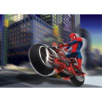 Bebegavroche - Papier peint M Spiderman Biker 160X115 Cm