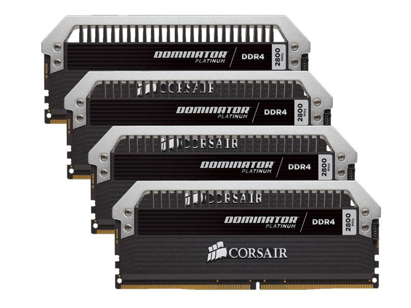 Dominator Platinum 16 Go 4 x 4 Go DDR4 3000 MHz Cas 15