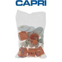 Capri - Lot de 5 kits Point de centre Dcl