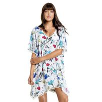 Seafolly - Tunique de plage Botanica multicolore