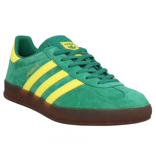 adidas gazelle bleu vert
