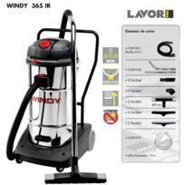 Lavor - Pro - Aspirateur eau et poussières en inox 3600W 3 moteurs, 65L 195l/s - Windy 365 Ir