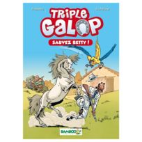 Bamboo - Bamboo Édition - Poche Triple Galop, Sauvez Betty - Tome 5