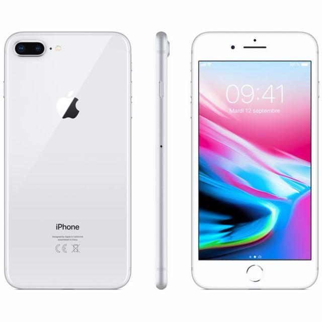 destockage apple iphone 8 plus 64 go argent reconditionn pas cher achat vente. Black Bedroom Furniture Sets. Home Design Ideas
