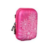 Rivacase - Riva Case 7022 PU Hartschalentasche Kamera - Eva - Crimson Pink Flowers