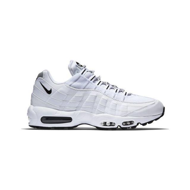Nike Air Max ' 95 Blanc pas cher Achat Vente Baskets