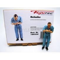 Figutec - Figurines Mecanicien Auto Union - Change les bougies - 1/18 - 180334