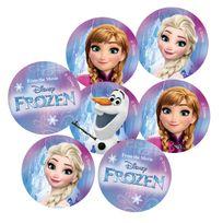 Procos - Sachet confettis de table : La Reine des Neiges Frozen