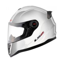 Ls2 Helmets - Casque Enfant Ls2 Ff392.3 Single Mono Blanc