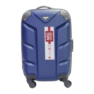 Carrefour valise rigide 52 cm abs 4 roues bleu for Table valise carrefour