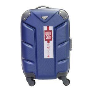 Carrefour valise rigide 52 cm abs 4 roues bleu marine pas cher achat vente valises - Valise cabine pas cher leclerc ...