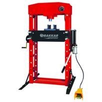 SODISE - Presse d'atelier manuelle et pneumatique 50T DRAKKAR - 10550