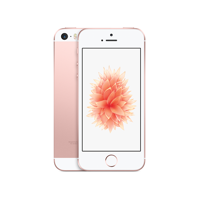 APPLE - iPhone SE - 64 Go - Or Rose - Reconditionné