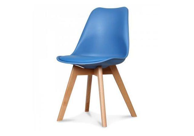 declikdeco chaise design style scandinave bleu esben. Black Bedroom Furniture Sets. Home Design Ideas
