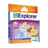 Leapfrog - Jeu Educatif Electronique LeapPad / Leapster Explorer Jeu Princesses Disney