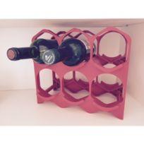 Drinkcase - Casiers à bouteilles couleur Rouge, Design et empilables Pack de 15 Casiers