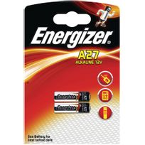 Energizer - Blister 2 piles A27 12volts